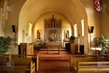 Mission San Rafael Arc?ngel stock photo, Mission San Rafael Arc?ngel was founded on December 14, 1817 as a medical asistencia (