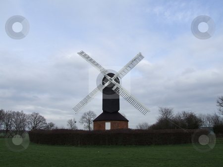 Windmill Front Shot stock photo, Windmill Front Shot by Stephen Lambourne