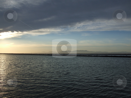 Sunset Over Lake stock photo, Sunset Over Lake by Stephen Lambourne