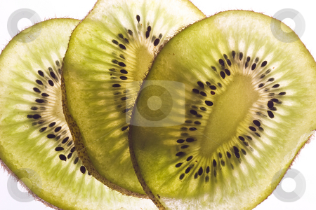 Kiwi slices stock photo,  by Marianne Dent