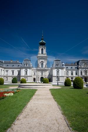 Festetics Castle stock photo, The Festetics Castle in Keszthely, Hungary by Istv??n Cs??k