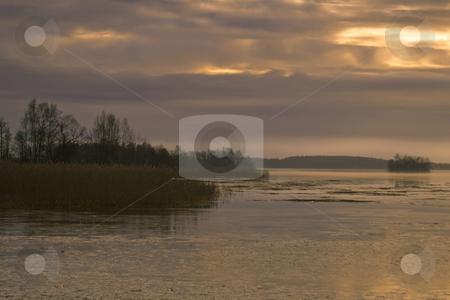 Sunlight stock photo, Sunlight hitting the ocean by Fredrik Elfdahl