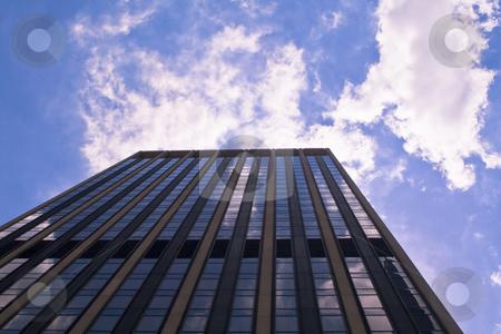 Skyscraper stock photo, Skyscraper riching to the sky by Fredrik Elfdahl