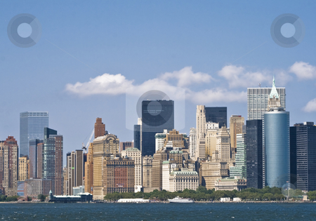 Skyscrapers in New York stock photo, Skyscrapers in New York by Fredrik Elfdahl