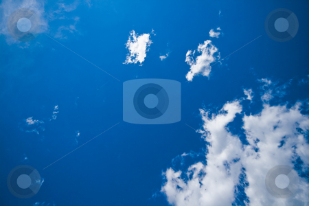 Blur sky with white clouds stock photo, Blur sky with white clouds by Fredrik Elfdahl