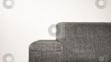 Sofa edge stock photo, The edge of a sofa by Fredrik Elfdahl