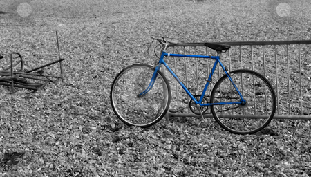 Bicycle  stock photo, Photo of a bicycle by Fredrik Elfdahl
