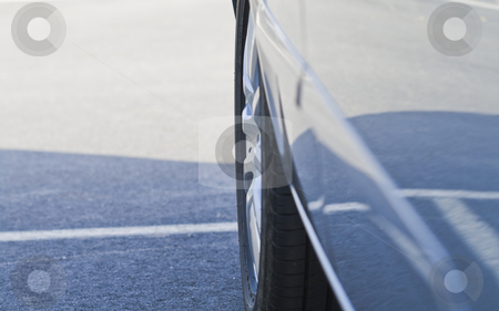 Side part of a car in a close up stock photo, Side part of a car in a close up by Fredrik Elfdahl