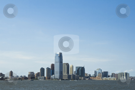 Skyscrapers in New York stock photo, Skyscrapers in New York by Fredrik Elfdahl