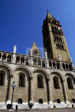 St. Peter & Paul Cathedral, Pecs stock photo, Hungary, Pecs, St. Peter & Paul Cathedral (11th-12th century) by David Ryan