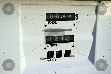 Pump stock photo, Gaz pump gage by Yann Poirier