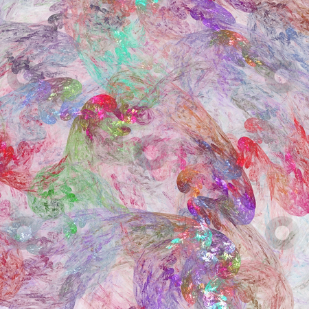 Abstract background. Pink - purple palette. stock photo, Abstract background. Pink - purple palette. Raster fractal graphics. by Andrey Khritin