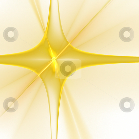 Abstract background. Yellow - white palette. stock photo, Abstract background. Yellow - white palette. Raster fractal graphics. by Andrey Khritin