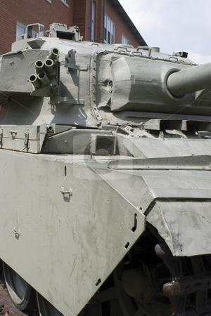 Tank stock photo, Park military tank by Yann Poirier