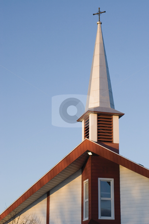 Church stock photo, Church roof by Yann Poirier