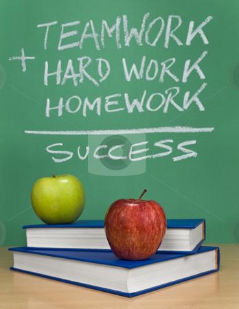 The way of success stock photo, A chalkboard describing the way to success. by Ignacio Gonzalez Prado