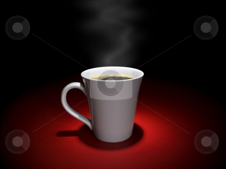 Coffee moment stock photo, A cup of hot and tasty coffee in a relaxing mood. by Ignacio Gonzalez Prado