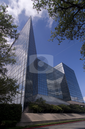 Castle of Glass stock photo, Sharp lines and angles in a castle of glass. by Charles Buegeler