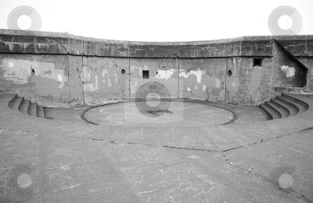 Fort Worden Bunker stock photo, Fort Worden military bunker in Port Townsend Washington. by Travis Manley