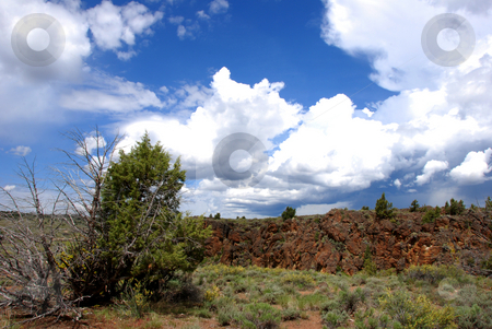View from Mud Flat Road stock photo, USA, Idaho, Owyhee County, Owyhee Uplands Scenic Bypass, View of Mud Flat Road by David Ryan