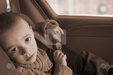 I'm Tired and Sleepy stock photo, Tired Little Kid Looking into the Camera by Mehmet Dilsiz