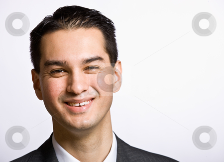 Businessman smiling stock photo, Businessman smiling by Jonathan Ross