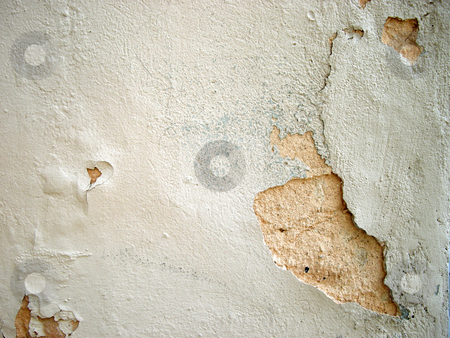 Plasterwork stock photo, Grunge structure of old wall by Birgit Reitz-Hofmann