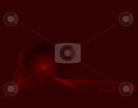 Magic red stock photo, Abstract magic background illustration on red by J?