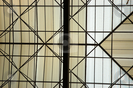 Glass roof stock photo, Glass roof that used in many house/ office by Bayu Harsa