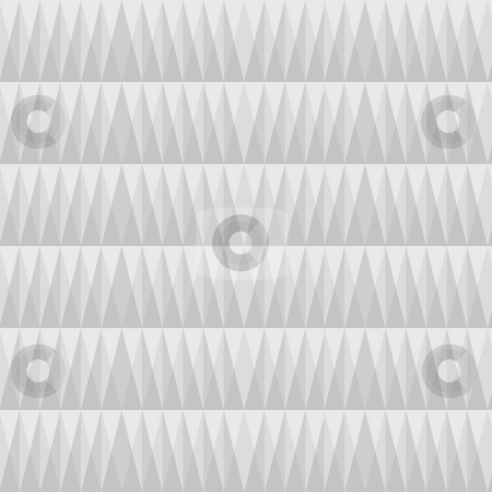 Grey triangle pattern stock photo, Seamless texture of many grey and white geometric shapes by Wino Evertz