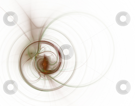Swirl stock photo, Abstract backgound - swirl on white - illustration by J?