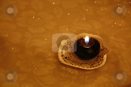 Sparkling Candle light stock photo, Sparkling Candle light by Chris Alleaume