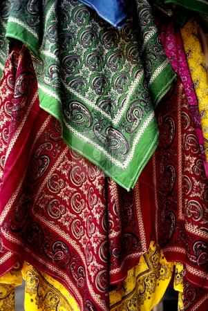 Paliacates stock photo, Mexico, Handkerchiefs,