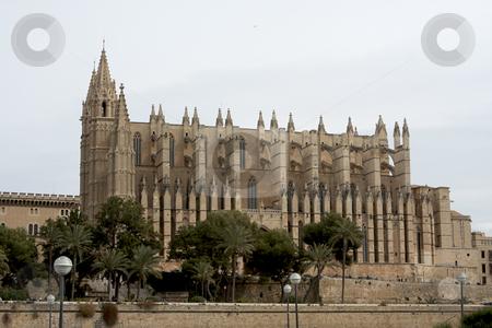 Palma Cathedral in Mallorca Spain stock photo, The beautiful Cathedral in Palma Mallorca Spain by Sharron Schiefelbein