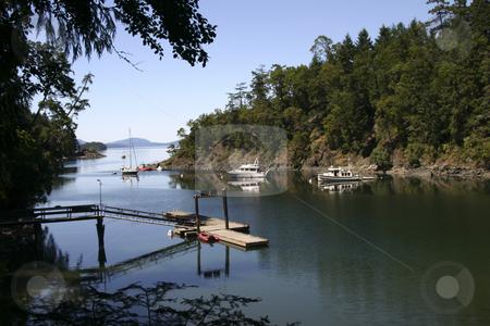 200 Bay on British Columbia coast stock photo, A quite bay on Victoria Island by Sharron Schiefelbein