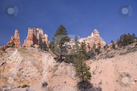 View of a beautiful Mountain stock photo, Grand Staircase Escalante National Park by Sharron Schiefelbein