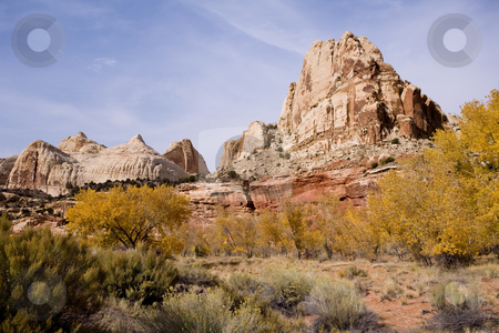 Mountain in Utah stock photo, Grand Staircase Escalante National Park by Sharron Schiefelbein