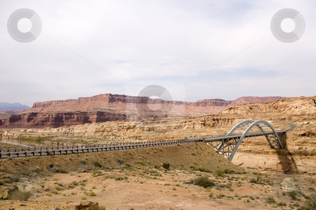 406 Bridge in Utah stock photo, Grand Staircase Escalante National Park by Sharron Schiefelbein
