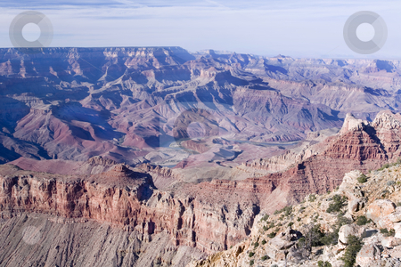 393 Grand Canyon stock photo, View from the South Rim of the Grand Canyon by Sharron Schiefelbein