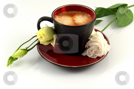 Romantic morning coffee stock photo, Romantic morning coffee by Sylwia Marzjan