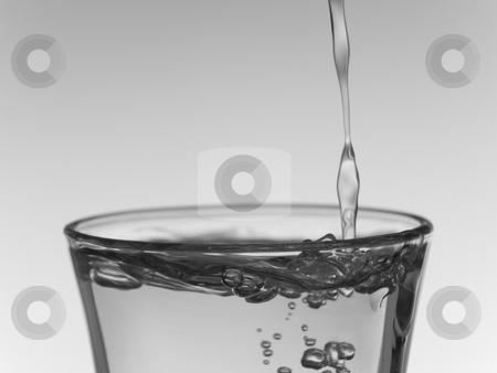 Shot of vodka stock photo, Pouring a shot of vodka. by Ignacio Gonzalez Prado