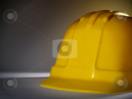 Hard hat stock photo, A yellow hard hat close-up by Ignacio Gonzalez Prado