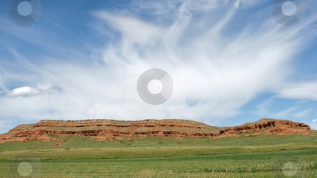 Red Ridge stock photo, Taken Near Spearfish South Dakota! by Brian Meyer