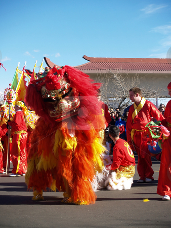 Perfomance stock photo, Chinese new year performance by Cora Reed