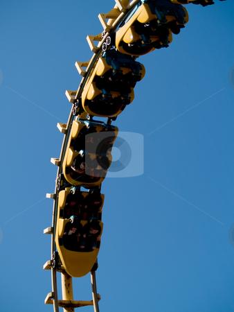 Fun ride stock photo, A fun amusement park ride by Cora Reed