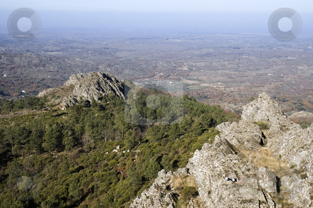 Serra de S. Mamede stock photo, Rocky landscape of Serra de S. Mamede in Alentejo, Portugal by Manuel Ribeiro