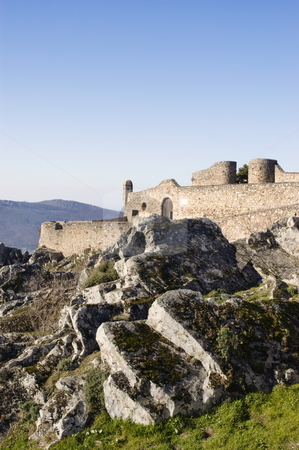 Castle of Marvao stock photo, Medieval Castle of Marvao in Alentejo, Portugal by Manuel Ribeiro
