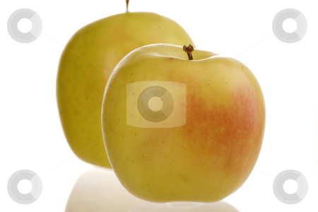 Apples stock photo, Apples healthy food image on white background by Marek Poplawski