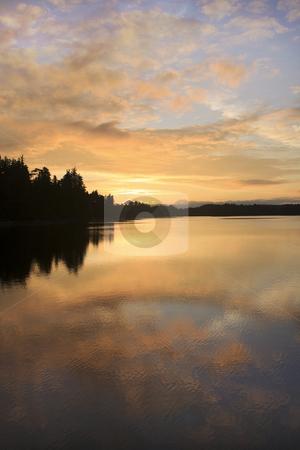 British Columbia Sunset on the West Coast stock photo, British Columbia Sunset on the West Coast by Sharron Schiefelbein