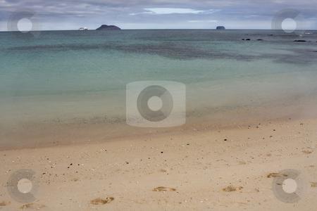 Seascape view of a Galapagos Island beach, Ecuador, South Americ stock photo, Seascape view of a Galapagos Island beach, Ecuador, South America by Sharron Schiefelbein